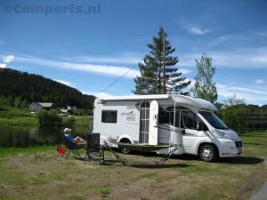 Op de camping bij Aurdal