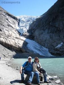 Birksdalen gletsjer
